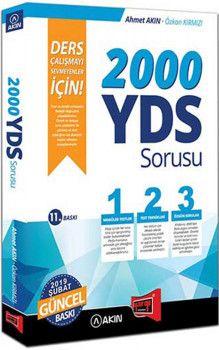 Yargı Yayınları 2000 YDS Sorusu Ders Çalışmayı Sevmeyenler İçin 11. Baskı