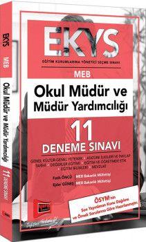 Yargı Yayınları EKYS MEB Okul Müdür ve Müdür Yardımcılığı 11 Deneme Sınavı