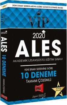 Yargı Yayınları 2020 ALES VIP Yeni Sınav Sistemine Göre Tamamı Çözümlü 10 Fasikül Deneme