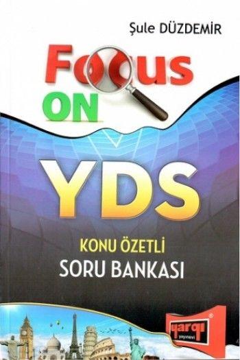 Yargı Yayınları Focus On YDS Çözümlü Soru Bankası