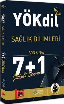 Yargı Yayınları YÖKDİL Sağlık Bilimleri Çözümlü7+1 Deneme Sınavı 10. Baskı