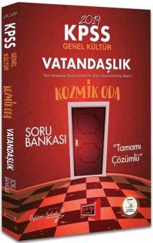 Yargı Yayınları 2019 KPSS Kozmik Oda Vatandaşlık Tamamı Çözümlü Soru Bankası