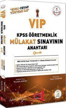 Yargı Yayınları KPSS Öğretmenlik Vip Mülakat Sınavının Anahtarı