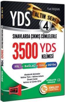 Yargı YDS Sınavlarda Çıkmış Cümlelerle 3500 YDS Kelimesi Altın Seri 4