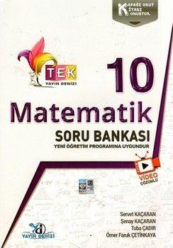 Yayın Denizi 10. Sınıf TEK Serisi Video Çözümlü Matematik Soru Bankası
