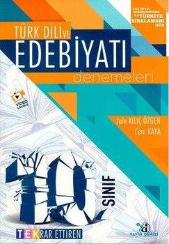 Yayın Denizi 10. Sınıf Türk Dili ve Edebiyatı Tek Serisi Deneme
