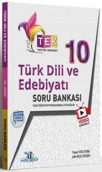 Yayın Denizi 10. Sınıf TEK Serisi Video Çözümlü Türk Dili ve Edebiyatı Soru Bankası