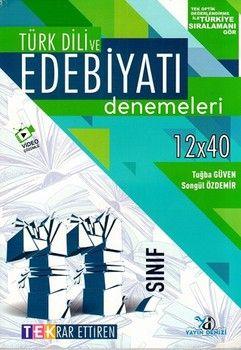 Yayın Denizi 11. Sınıf Türk Dili ve Edebiyatı TEK Serisi Denemeleri
