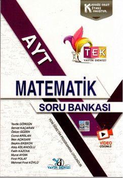Yayın Denizi  AYT Matematik TEK Serisi Soru Bankası