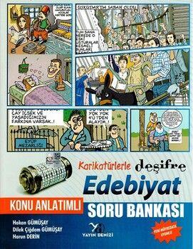 Yayın Denizi Edebiyat Karikatürlerle Deşifre Konu Anlatımlı Soru Bankası