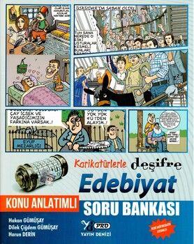 Yayın Denizi Edebiyat Karikatürlerle Deşifre Pro Konu Anlatımlı Soru Bankası