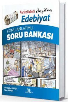 Yayın Denizi Karikatürlerle Deşifre Ebebiyat Konu Anlatımlı Soru Bankası
