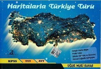Yayın Denizi KPSS TYT AYT Haritalarla Türkiye Turu