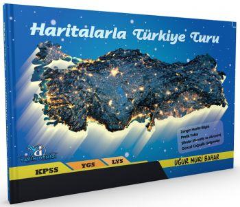 Yayın Denizi KPSS YGS LYS Haritalarla Türkiye Turu