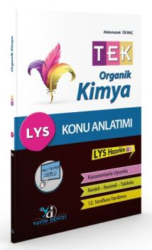 Yayın Denizi LYS TEK Organik Kimya Konu Anlatımlı Cep Kitabı