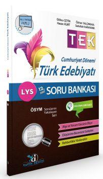 Yayın Denizi LYS TEK Cumhuriyet Dönemi Türk Edebiyatı Soru Bankası