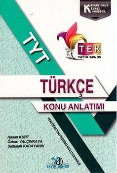 Yayın Denizi TYT Türkçe TEK Serisi Konu Anlatımı Cep Kitabı
