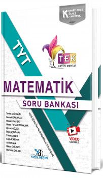 Yayın Denizi TYT TEK Serisi Video Çözümlü Matematik Soru Bankası