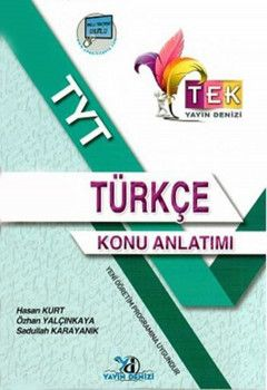 Yayın Denizi TYT TEK Serisi Türkçe Konu Anlatımlı