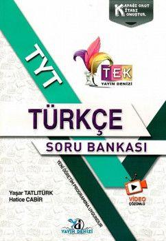 Yayın Denizi TYT TEK Serisi Video Çözümlü Türkçe Soru Bankası