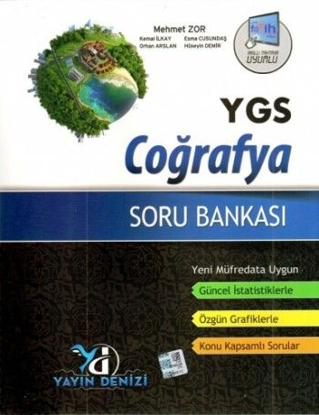 Yayın Denizi YGS Coğrafya Soru Bankası