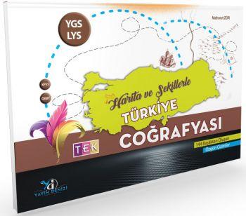 Yayın Denizi YGS LYS KPSS ÖABT Tek Coğrafya Harita ve Şekillerle Türkiye