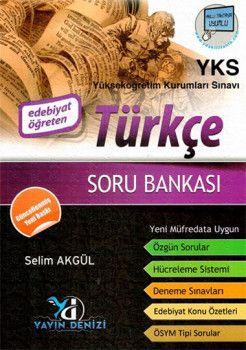 Yayın Denizi YKS 1. Oturum TYT Türkçe Edebiyat Öğreten Soru Bankası