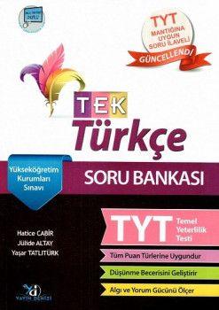 Yayın Denizi YKS 1. Oturum TYT TEK Türkçe Soru BankasıTYT Mantığına Uygun Soru İlaveli