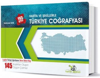 Yayın Denizi YKS KPSS Harita ve Şekillerle Türkiye Coğrafyası