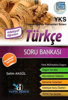 Yayın Denizi YKS Türkçe Edebiyat Öğreten Soru Bankası