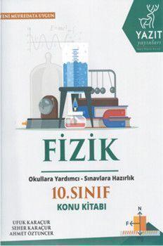 Yazıt Yayınları 10. Sınıf Fizik Konu Kitabı