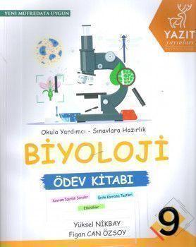 Yazıt Yayınları 9. Sınıf Biyoloji Ödev Kitabı
