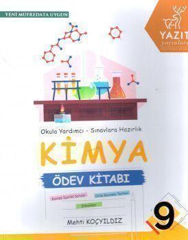Yazıt Yayınları 9. Sınıf Kimya Ödev Kitabı