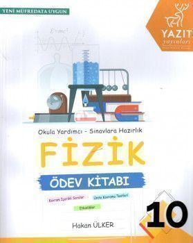 Yazıt Yayınları 10. Sınıf Fizik Ödev Kitabı