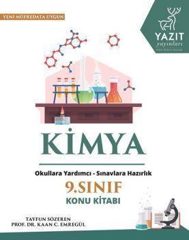 Yazıt Yayınları 9. Sınıf Kimya Konu Kitabı