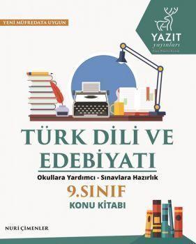 Yazıt Yayınları 9. Sınıf Türk Dili ve Edebiyatı Konu Kitabı