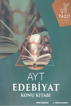 Yazıt Yayınları AYT Edebiyat Konu Kitabı