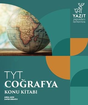Yazıt Yayınları TYT Coğrafya Konu Kitabı