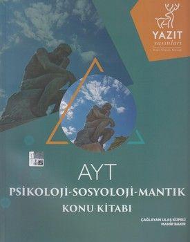 Yazıt Yayınları AYT Psikoloji Sosyoloji Mantık Konu Kitabı