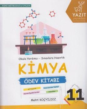 Yazıt Yayınları 11. Sınıf Kimya Ödev Kitabı