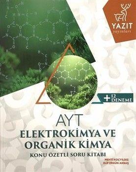 Yazıt Yayınları AYT Elektrokimya ve Organik Kimya Konu Özetli Soru Bankası
