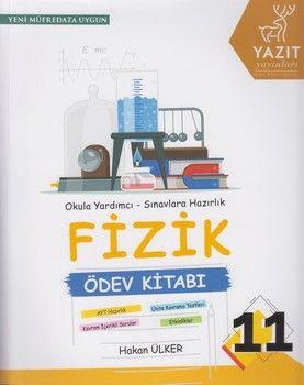 Yazıt Yayınları 11. Sınıf Fizik Ödev Kitabı