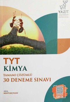 Yazıt Yayınları TYT Kimya Tamamı Çözümlü 30 Deneme