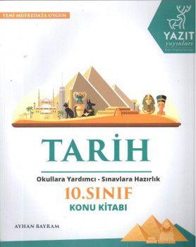 Yazıt Yayınları 10. Sınıf Tarih Konu Kitabı