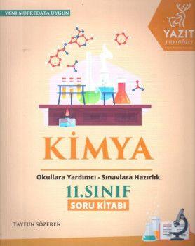 Yazıt Yayınları 11. Sınıf Kimya Soru Kitabı