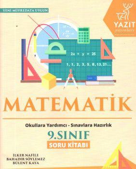 Yazıt Yayınları 9. Sınıf Matematik Soru Kitabı