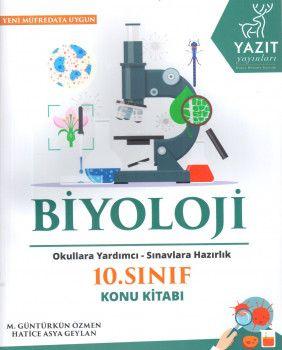 Yazıt Yayınları 10. Sınıf Biyoloji Konu Kitabı