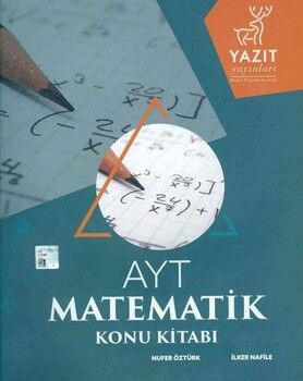 Yazıt Yayınları AYT Matematik Konu Kitabı