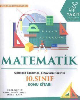 Yazıt Yayınları 10. Sınıf Matematik Konu Kitabı