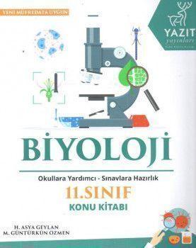 Yazıt Yayınları 11. Sınıf Biyoloji Konu Kitabı